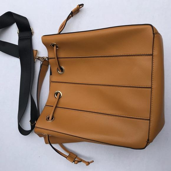 832e4cdb96 Zara Bags | Trf Womens Mustard Drawstring Handbag | Poshmark